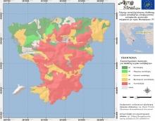 Δρ. Μ. Κ. Ντούλα.Χάρτης Καταλληλότητας Εδάφους για τη διασπορά υγρών αποβλήτων κελυφωτών φυστικιών ν. Αίγινας ως προς την περιεκτικότητα σε διαθέσιμο Φώσφορο (LIFE-AgroStrat)